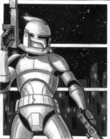 Clone Trooper by Amckissen
