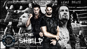 The Shield Wallpaper by Tripleh021
