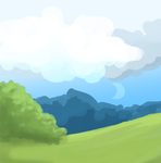 Green field by Flamingoz
