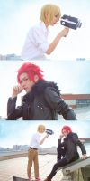 K : Suou Mikoto and Totsuka Tatara by Ray-DDDDD