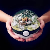 Spearow Winter - Poke Ball Terrarium by TheVintageRealm