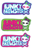 Punky Brewster Logo 3 by mythicdragon30