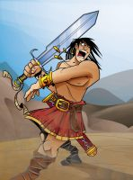 CONAN color by JAGRASSI