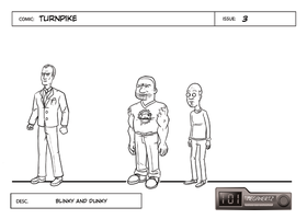 Turnpike Design - Blinky+Dunky by cmbarnes