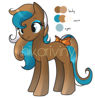 Pony Adoptable1 ::CLOSED:: by hikariviny