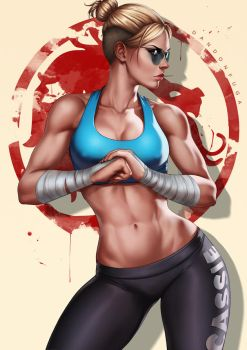 Cassie Cage by dandonfuga