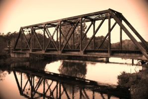 Canal Rail Bridge by explicitly