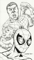 SUPERIOR SPIDER-MAN WARM-UP SKETCH by FanBoy67