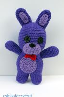 Bonnie-Five Nights at Freddy's by MilesofCrochet