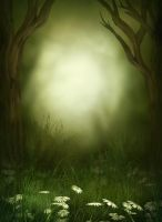 Magic Wood background free by moonchild-ljilja
