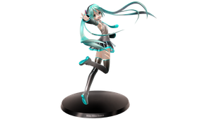 Miku Figurine by Jordiya