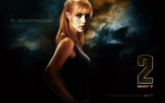 Fan Art: Claire Holt as Pepper Potts. by SecondToParadise