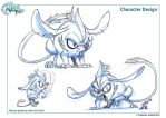 Maman Gerboise wakfu S02-Ep01 character design by migouze