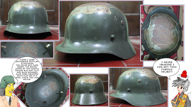 East Indies Stahlhelm by finalverdict