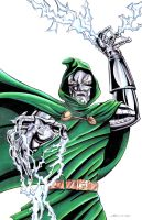 Dr. Doom by kentarcher