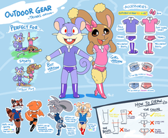 Outfit ref - Outdoor Gear (trunks version) by Machu