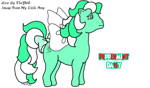 Peppermint Daisy- The MLP Paint.Net Base Pony by TheYUO
