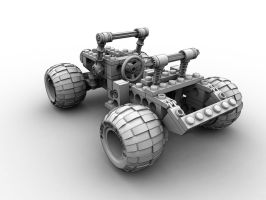 LEGO Buggy rear view by AndyBuck