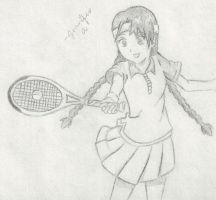 Prince of Tennis Ryuzaki Sakuno by Princessemeral