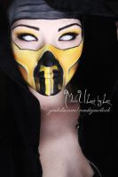 Mortal Kombat, Scorpion by MadeULookbylex