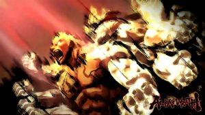 asura's wrath by KUSAMA332