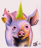 Pig by MissNeurotic