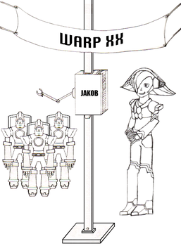 WARP XX - The Jakob Project by Rithiv