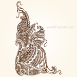 Free Paisley Images by 123freevectors