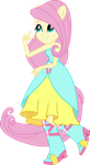 Fluttershy Dance Dress UPDATE V2 by icantunloveyou
