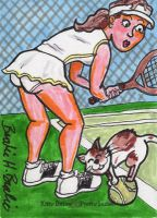 Kitty Ditties and Pretty Ladies: Tennis time by brodiehbrockie