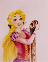 Tangled-Rapunzel by EveSinclair