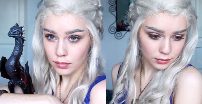 Daenerys Targaryen Cosplay Makeup Tutorial by Mirish