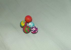 Bagatelle balls by MeticulousBlue