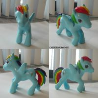 Rainbow Dash G3 Pony by ChibiSilverWings