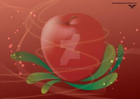 Red Apple by saldeesign