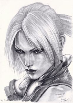 Nina Williams Tekken by B-AGT