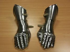 A pair of gauntlets by Pammus