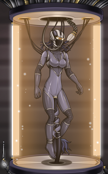 Pacified Neytiri 5/5 alt. (commission) by Re-Maker
