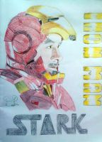 Tony Stark Iron Man by Artistic-Imagery
