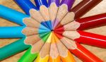 Color Wheel Pencils by sonorousviola