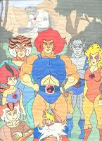 ThunderCats Family Portrait 1 by Bryano37