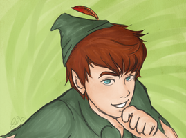 Peter Pan Returns by xsweetsillygirl