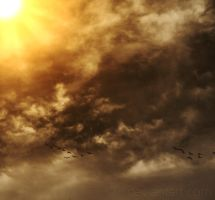 Painted sky by chriskronen