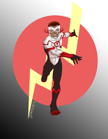 Wally West New 52 by DaJam22