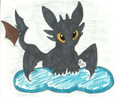 toothless by Sasuke-fan