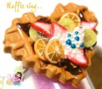 Heart shaped Waffle Ring by colourful-blossom