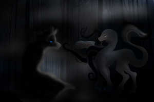:The warewolf and the Pony: by Cyber-Relic