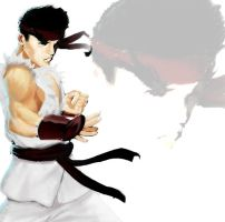 Ryu rough by Bariarti
