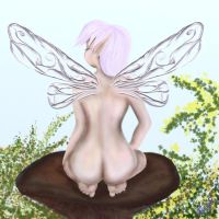 Naked Fairy by mannafig