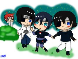Uchiha's little Uchiha? by Ivy-Desu